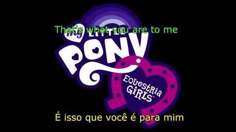 Equestria Girls - Um amigo para a vida - A friend for life