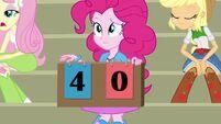 Pinkie Pie scoreboard four-zero