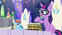 """Sci-Twi """"ordinary ponies who save the world"""" EGSB"""