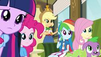 Twilight and friends curious