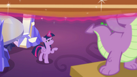 Twilight and Spike still hanging painting EGSB