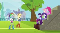 Twilight and friends soccer bleachers