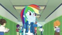 "Rainbow Dash ""I live in slow motion"" EGDS42"