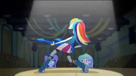 MLP Equestria Girls - Rainbow Rocks Awesome As I Wanna Be - Dub PL 1080p-0