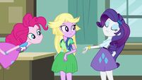 Pinkie Pie, Rarity and disguised Twilight