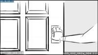 EG3 animatic - Sci-Twi opening a door