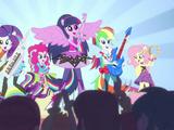 My Little Pony Equestria Girls: Rainbow Rocks/Curtas de animação