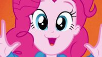 Pinkie Pie hands up now