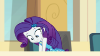 Rarity reaching under the lunch table EGDS4