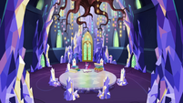 Wide view of Princess Twilight's throne room EGSBP