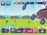 MLPEG app archery mini-game round 2