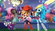 MLP Equestria Girls Minis - 'Fun at the Theme Park!' Digital Short 🎆