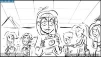 EG3 animatic - Photo Finish holding a camera