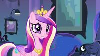 Princess Cadance talking to Twilight EG