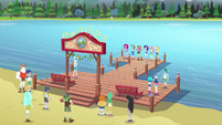 Equestria Girls and Wondercolts on the completed dock EG4