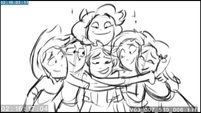 """EG3 animatic - Sunset """"go back to Equestria for a visit"""""""