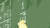 Fluttershy continues her fast calculating EGDS10