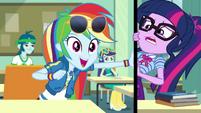 Rainbow Dash suggests a Daring Do movie EGDS22
