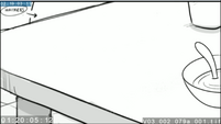 EG3 animatic - View of the table