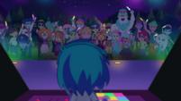 DJ Pon-3 giving concert at Starswirled CYOE12