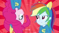 Pinkie Pie and Rainbow Dash splash screen