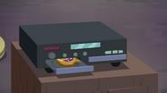 Time Twirler slides into CD player tray EGSBP