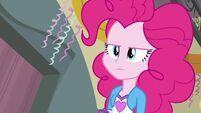 Pinkie Pie straight face