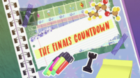 The Finals Countdown title card EGDS6