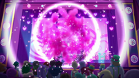 Magical energy explodes on the stage EGSBP