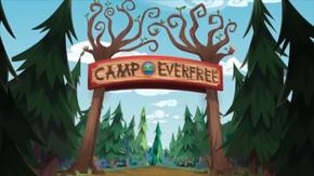 Legend of Everfree background asset - Camp Everfree entrance.png