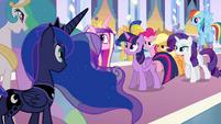 Twilight before the princesses EG