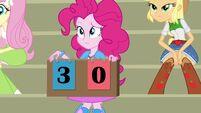 Pinkie Pie scoreboard three-zero
