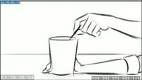 EG3 animatic - Sunset stirring her drink 2