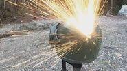 K6-3 Russian Helmet ballistic test - Titanium vs 5