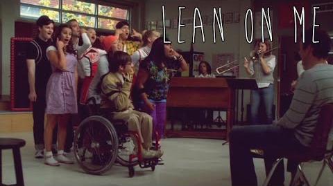 "GLEE - Full Performance of ""Lean On Me"""