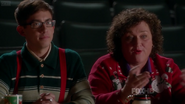 5x08 Artie & Shannon Previously Unaired Christmas