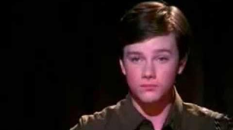 Glee Mr Cellophane Music Video KURT-0