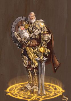 Anduin Lothar Lion of Azeroth by pulyx.jpg