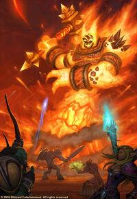 Imagen de Ragnaros el Señor del Fuego