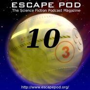 EscapePod 10 badge