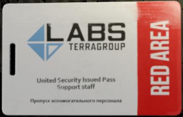 Lab. Red keycard