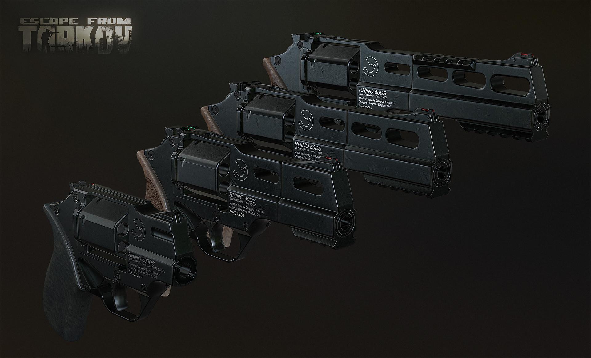 Rhino revolver