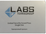 TerraGroup Labs access keycard