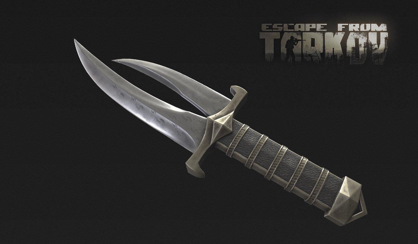 Split-blade Dagger