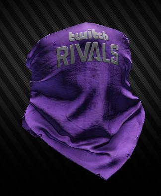 Twitch Rivals 2020 half mask