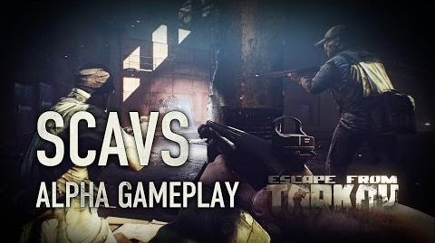 Escape from Tarkov Alpha - Scavs Gameplay (Дикие)