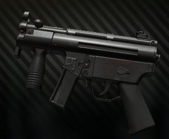HK MP5 Kurz 9x19 submachinegun