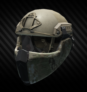 Ops-Core Fast MT SUPER HIGH CUT Helmet Tan with mandible