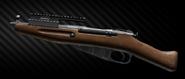 Mosin bolt-action sniper rifle - Obrez M left