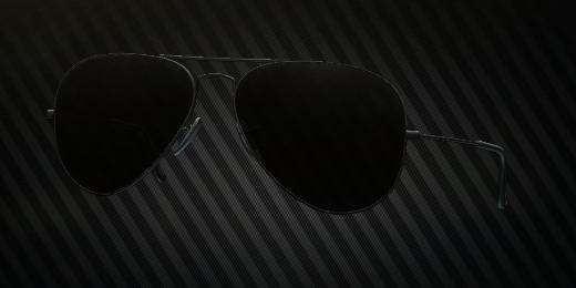 RayBench Aviator glasses